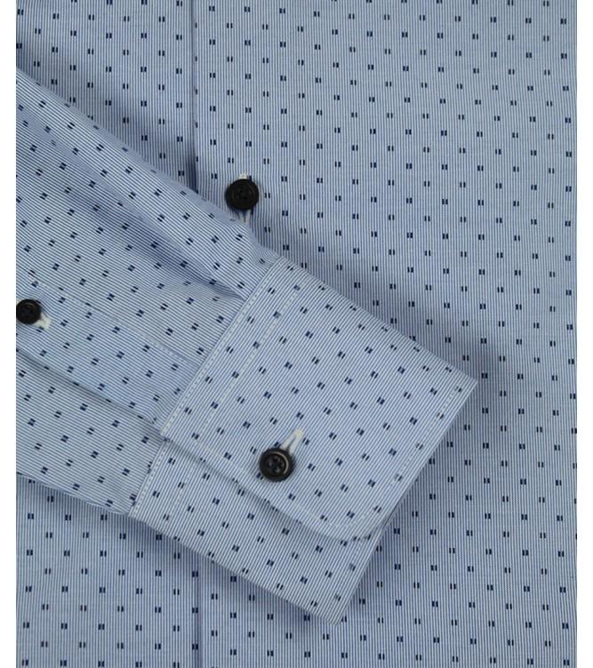 Camisa Azul Motivos Azuis
